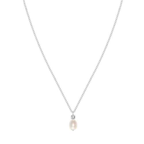 Anna Pearl Wedding Necklace
