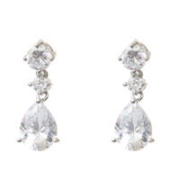 Chez Bec Coralie Crystal Drop Earrings £32