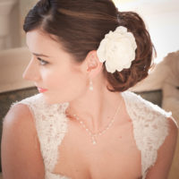 Chez Bec Jewelled Gardenia Hair Flower £32