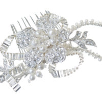 Chez Bec Pearl Elegance Hair Comb 64