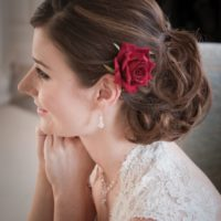 Chez Bec Red Rose Hair Flower £24 (5)