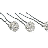 Chez Bec Set of 3 Sparkle Hair Pins £22