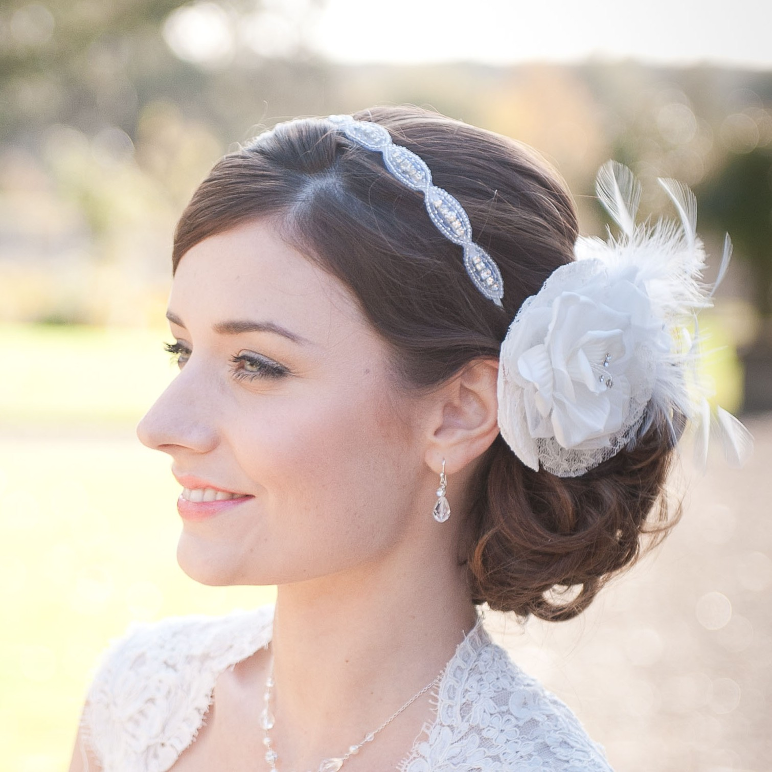 Chez Bec Sienna I Headband £72 and Katie Hair Flower £68 (4)