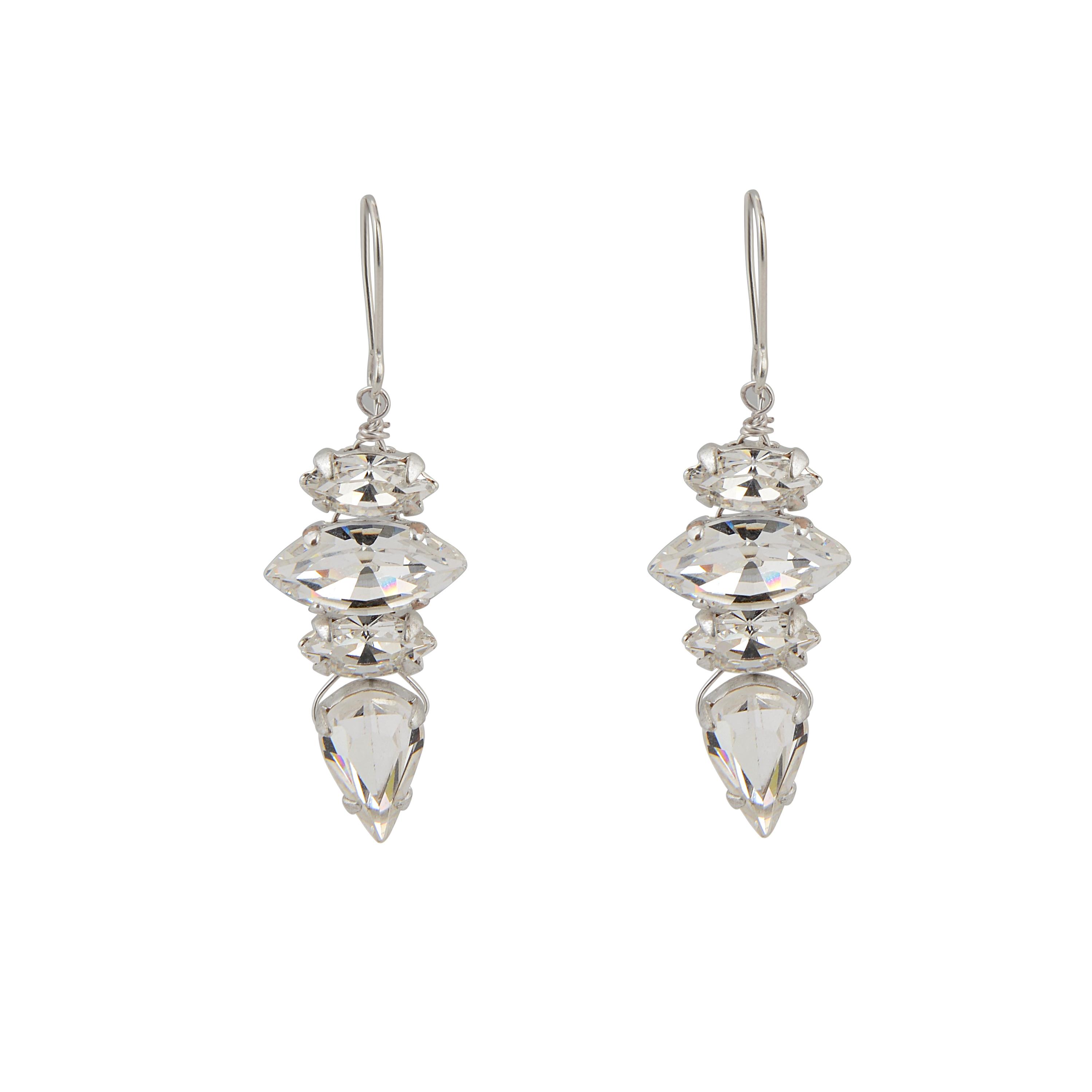 Hepburn Vintage Bridal Earrings
