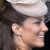 Kate Middleton Fake Pearl and Diamond Jubilee Earrings £32