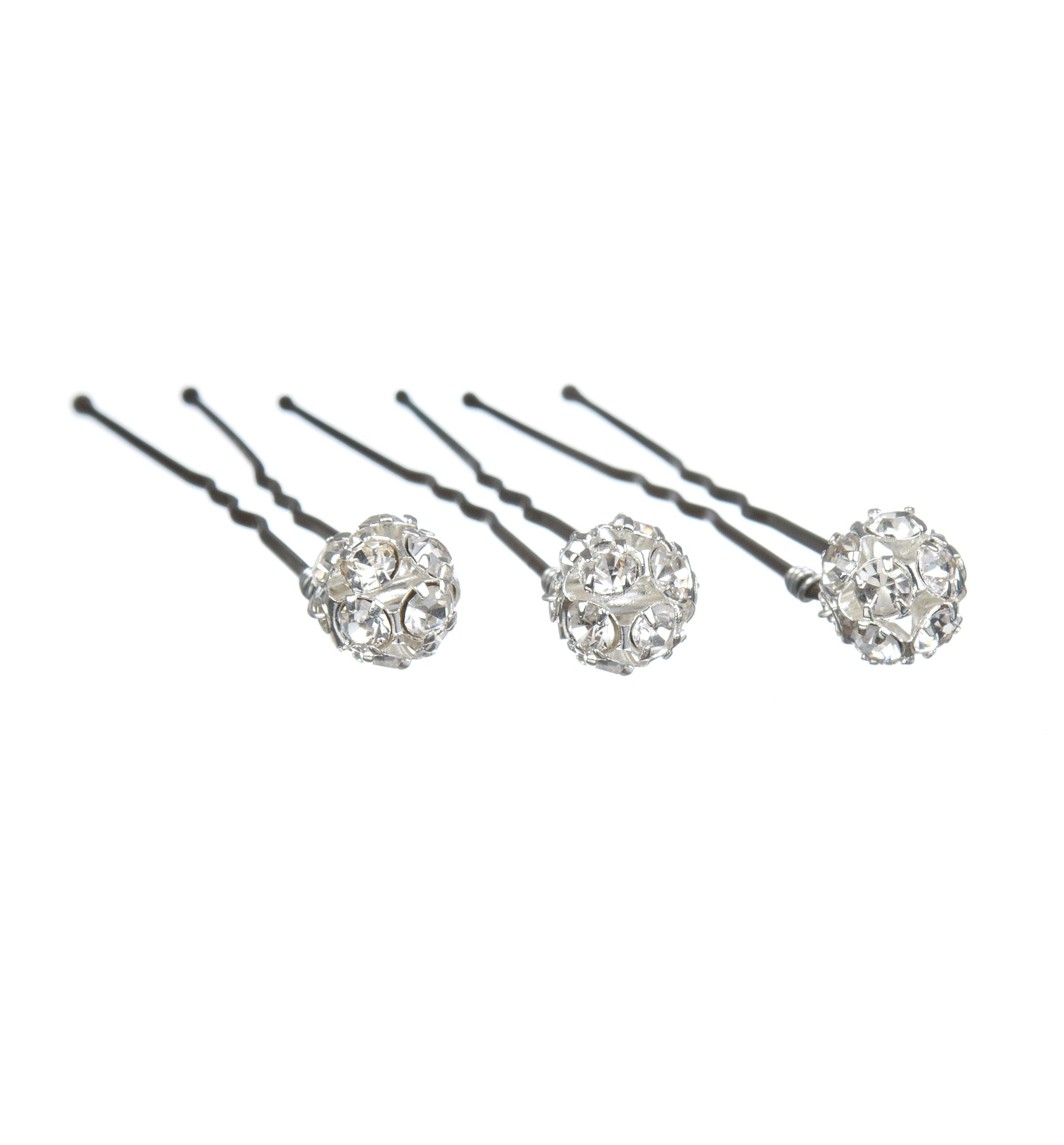 Set Of Sparkle Wedding Hair Pins
