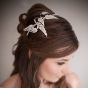 Claudine Vintage Style Wedding Headband 146