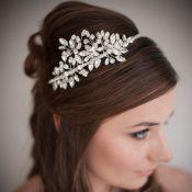 Amelie Swarovski Crystal Wedding Headband £168