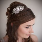 Mia Vintage Wedding Headband £106