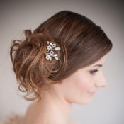 Blossom Pearl and Crystal Bridal Hair Pin £38