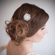 Cecily Pearl Bridal Hair Comb 52