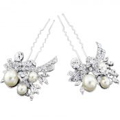 Chez Bec Set of 2 Marie Hair Pins £58