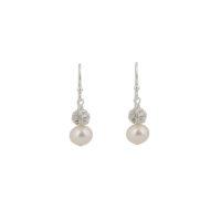 Abigail Pearl and Diamante Bridal Earrings