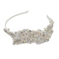 Evelyn Bridal Applique Headband