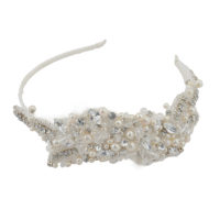 Evelyn Bridal Applique Headband