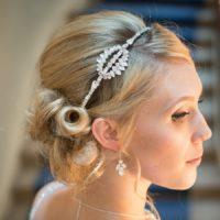 Hepburn Vintage Bridal Headband