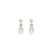 Anna II Vintage Pearl Bridal Earrings
