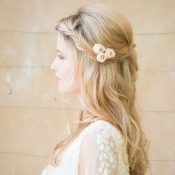 Hessian Rose Bud Hair Pins - Chez Bec From £24 for 3