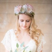 Laura Full Flower Crown £132 Chez Bec