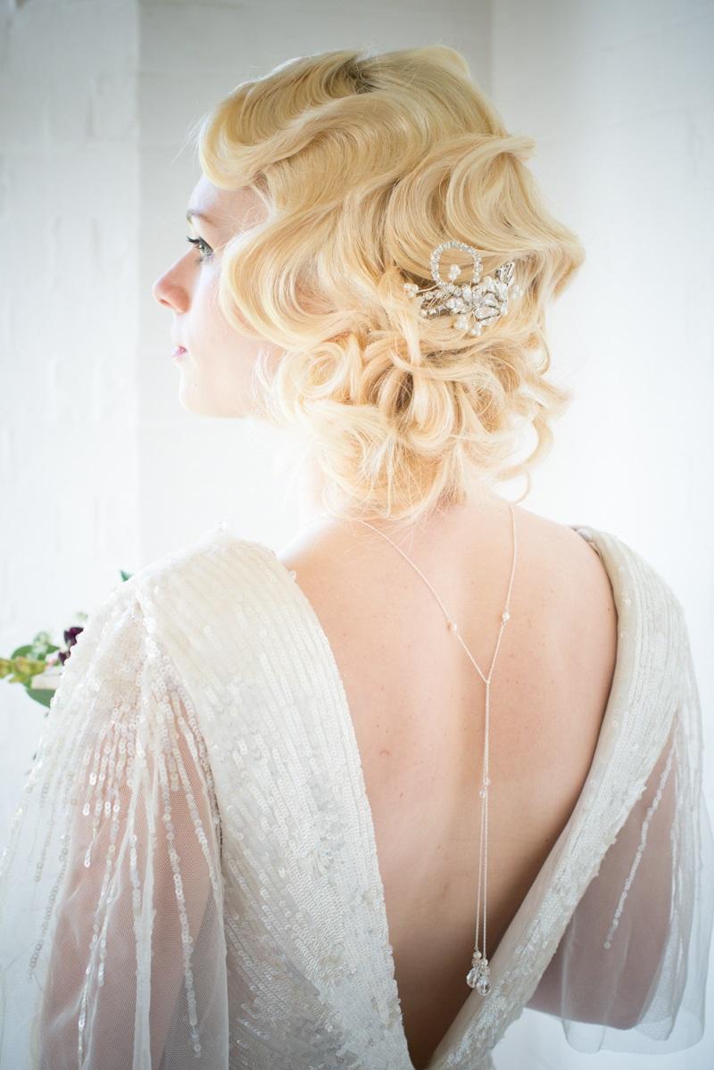 Bridal Back Necklace