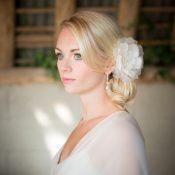 Jewelled Bella hair flower £36 Chez bec (ivory)