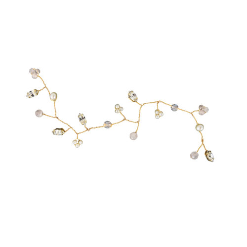 Aphrodite Bridal Hair Vine in Gold