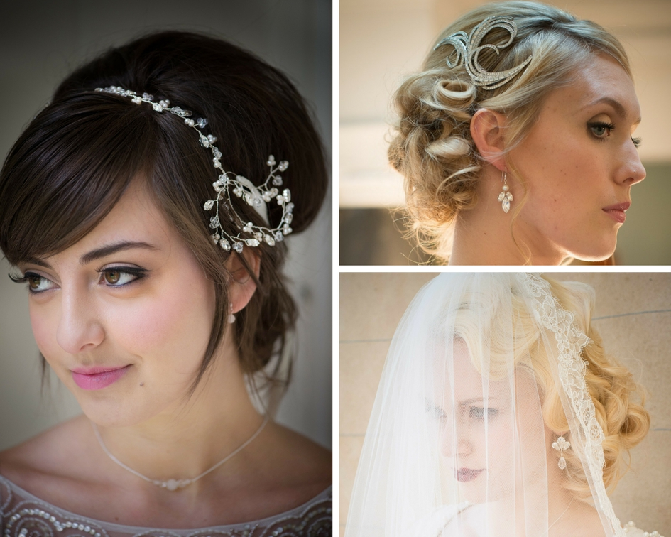 Winter wedding jewellery