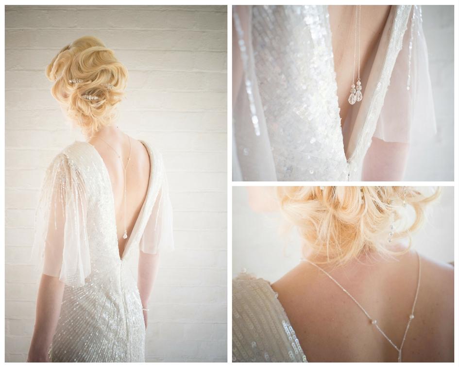 Winter wedding jewellery