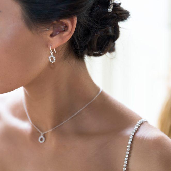 b8d775b91f2fe Stella bridal diamante halo earrings