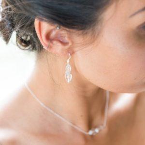 Margot crystal drop earrings