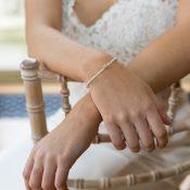 Stella seed pearl bridal bracelet
