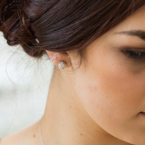 Stella ball stud earrings