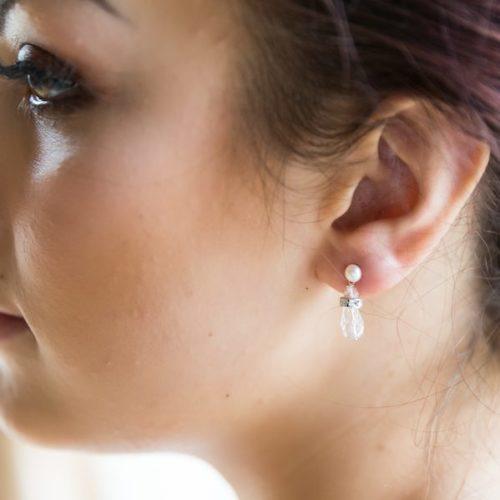 Vintage Margot Bridal Earrings