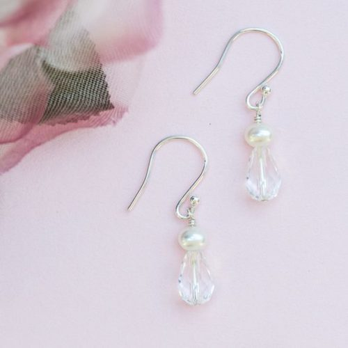 Small Lili drop earrings