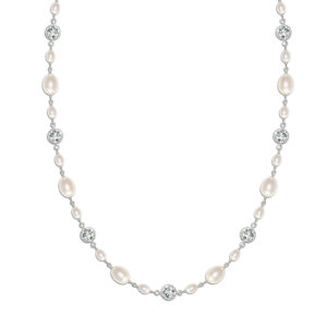 Isabella Vintage Pearl Bridal Necklace