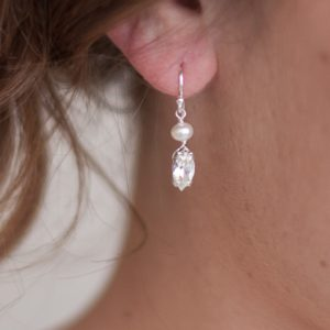 Vanessa Pearl Wedding Earrings