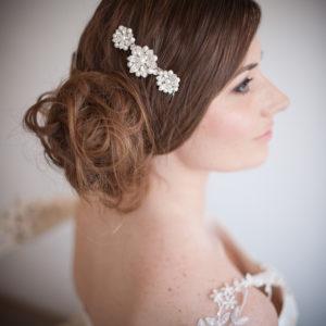 Vanessa Vintage Pearl Bridal Hair Comb