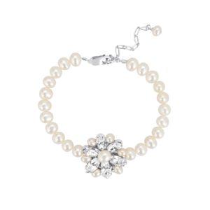 Vanessa II Pearl Bridal Bracelet