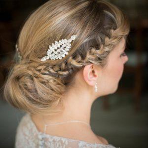 Hepburn Vintage Bridal Hair Comb