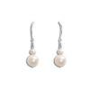 Angel Pearl Wedding Earrings