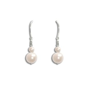 Angel Pearl Wedding Earrings