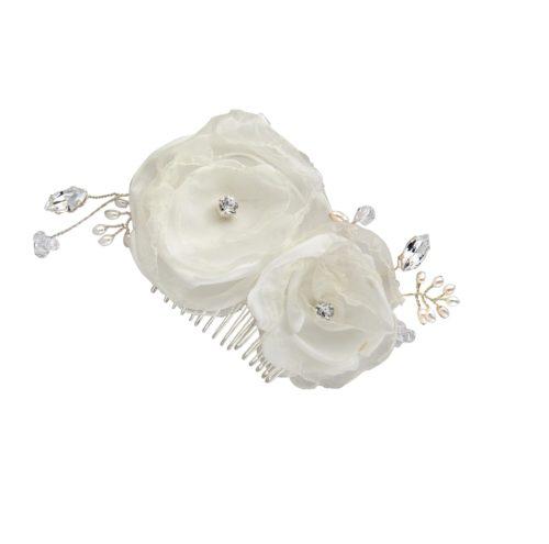 Flora Flower Bridal Hair Comb