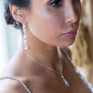 Margot long drop earrings