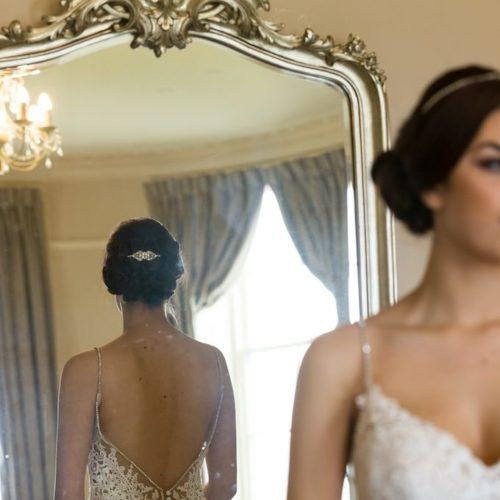 Stella diamante bridal comb