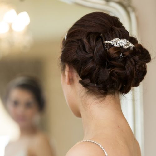 Stella diamante hair comb