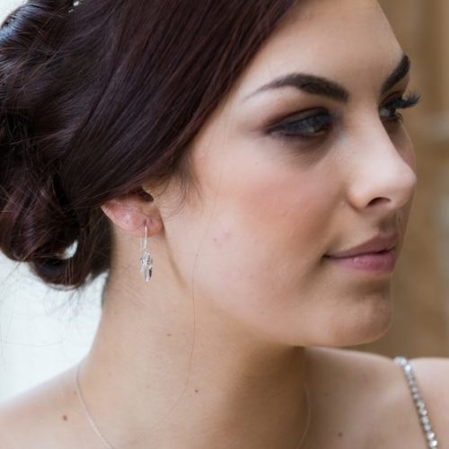Small Margot Wedding Earrings