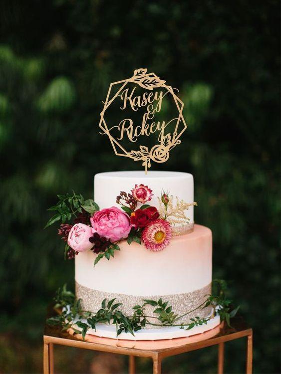 Wedding cake trend 2019